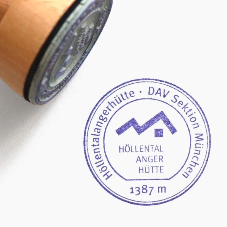 Stempel Höllentalangerhütte DAV